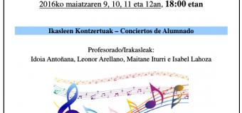 Semana de Conciertos en Civivox