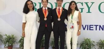 Jorge Tarancónek Biologia Olinpiadako Fase Internazionalean brontzezko domina irabazi du