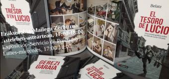 """Conferencia: Belatz, autor de la novela gráfica """"El tesoro del Lucio"""""""