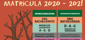 Admisión Curso 2020-2021